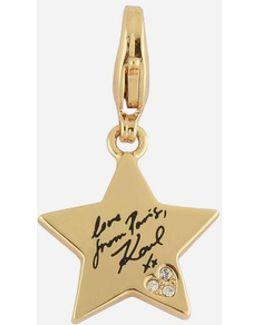 Gold Karl Star Charm