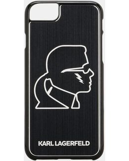 Karl Head Black Aluminum Iphone 7 Case