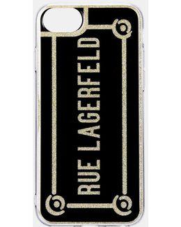 Rue Lagerfeld Iphone 7 Case