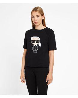 Karl Ikonik Short Sleeved Sweatshirt