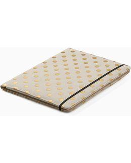 Polka Dot Notepad Folio