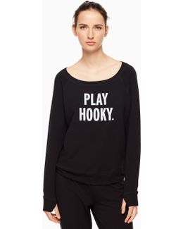 Play Hooky Relaxed Long Sleeve Pullover