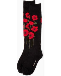 Poppy Knee High Socks