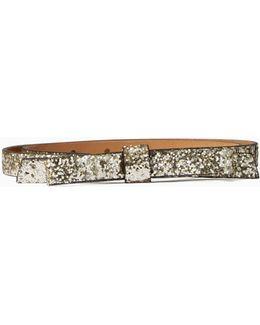 Glitter Classic Bow Belt