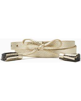 "5/8"" Bow Belt"