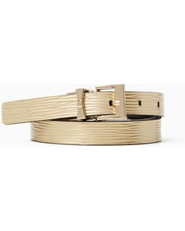 "3/4"" Reversible Leather Belt"