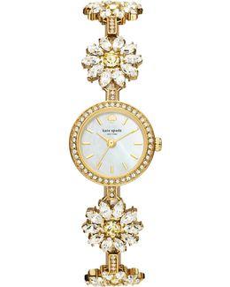 Daisy Crystal Bracelet Watch