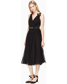 Embellished Bow Dress