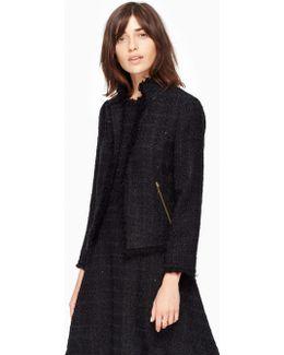 Shimmer Tweed Jacket