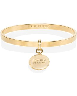 Say Yes Scalloped Partners In Crime Bangle