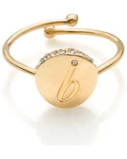 Forever Mine Initial Ring