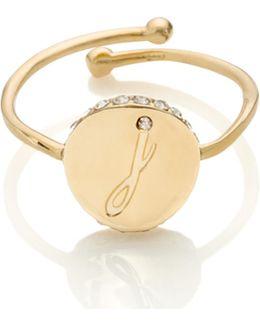 Forever Mine Initial Ring