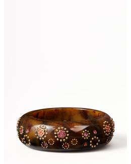 Out Of Her Shell Statement Bangle