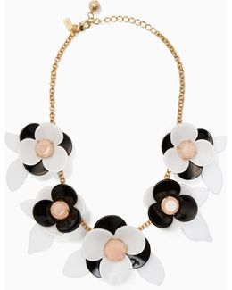 Pick A Posy Statement Necklace