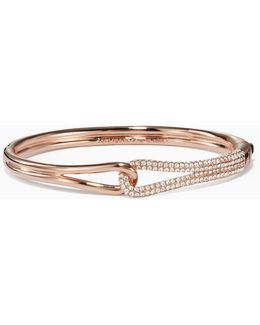 Get Connected Pave Loop Bangle
