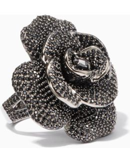 Midnight Rose Rose Ring