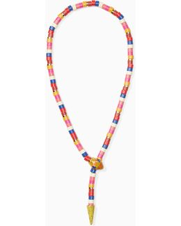 Spice Things Up Snake Statement Necklace