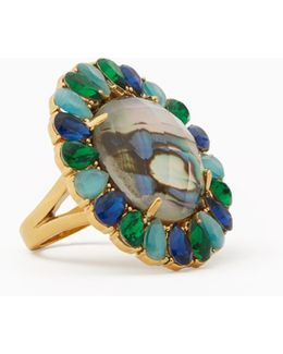 Peacock Way Ring