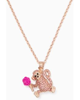 Rambling Roses Monkey Mini Pendant