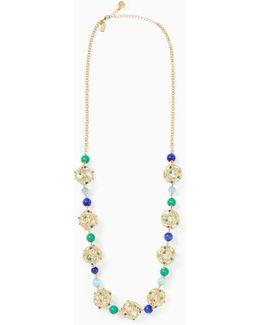 Brilliant Bauble Long Necklace