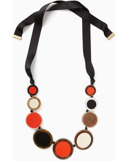 Connect The Dots Statement Necklace
