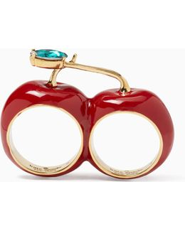 Ma Chérie Cherry Double Ring