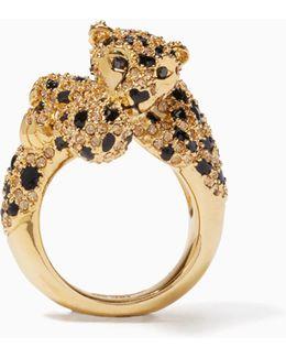 Run Wild Cheetah Ring