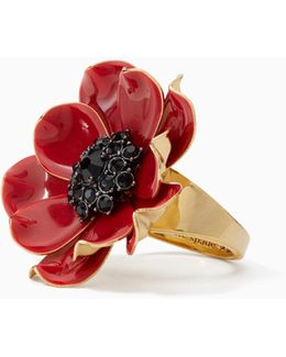 Precious Poppies Ring