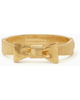 All Wrapped Up Bow Hinged Bangle