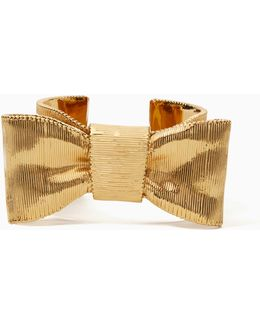 All Wrapped Up Statement Bow Cuff