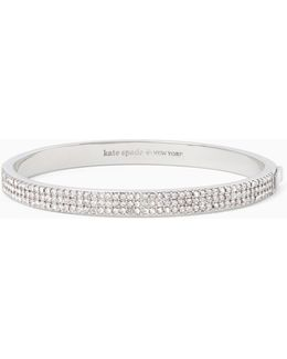 Heavy Metals Pave Row Bangle