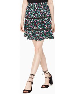 Greenhouse Lace Inset Skirt