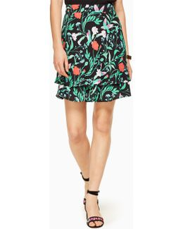 Jardin Double Layer Skirt