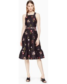 In Bloom Fit And Flare Dress