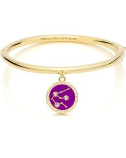 In The Stars Aquarius Bangle