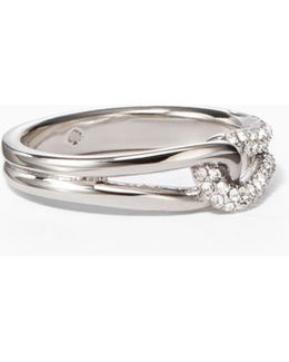 Get Connected Pave Loop Ring