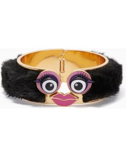 Imagination Monster Statement Bangle - Hinged