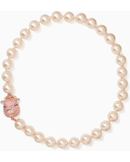 Imagination Pearl Pig Necklace