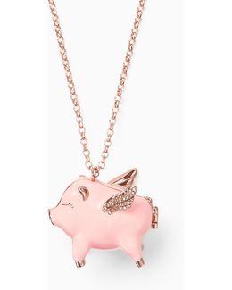 Imagination Pig Locket
