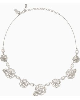 Crystal Rose Necklace