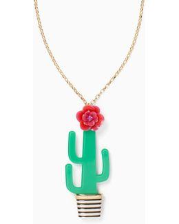 Scenic Route Cactus Pendant
