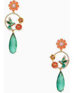 Scenic Route Hummingbird Statement Earrings