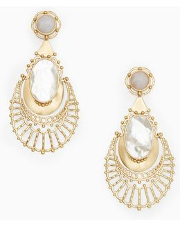 On The Rocks Statement Earrings