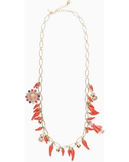 Haute Stuff Pepper Long Necklace