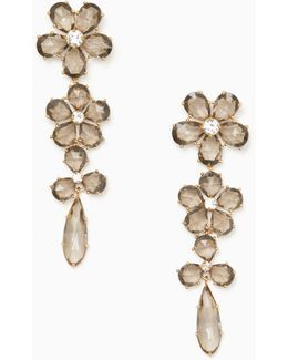 In Full Bloom Linear Statement Earrings