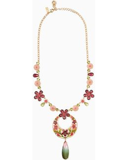 In Full Bloom Statement Necklace