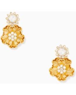 Precious Poppies Drop Earrings