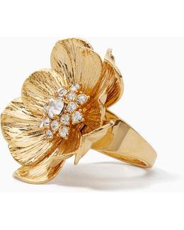 Precious Poppies Ring