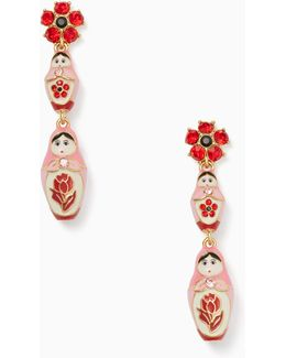 Ooh La La Dollface Statement Earrings