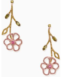 Toast Of The Town Linear Drop Earrings